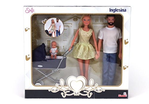 Simba- Steffi Love Inglesina Famiglia con Carrozzina, 105733283