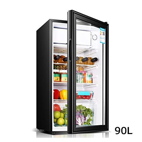 Car refrigerator Frigorifero per Vino 90l Nero Piccolo Mini Congelatore Armadio per Campioni con...