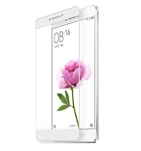 Plus HD+ Crystal Clear Full Screen Coverage Tempered Glass for Xiaomi Mi Max (White)