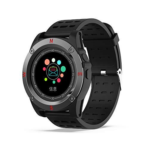 Reloj Inteligente, AIVEILE Smartwatch Bluetooth con cámara Ranura para Tarjeta SIM Pantalla táctil con Podómetro, Calendario, Escalada Reloj Corriendo para Hombres, para iOS Android Phone Mate