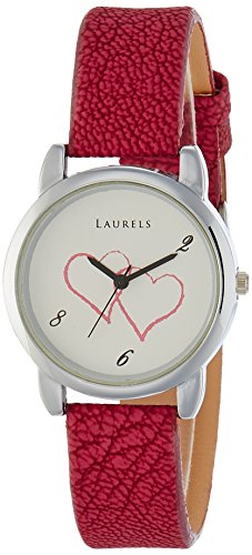 Laurels February Analog Silver Dial Women's Watch - Lo-Feb-101