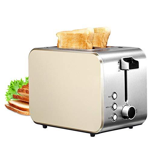 Prima colazione Acciaio inossidabile Tostapane, 2 fette Tostapane con Annulla Riscaldare Scongelare...