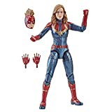 Marvel Captain 6-inch Legends Captain in Costume Figure for Collectors, Kids, And Fans