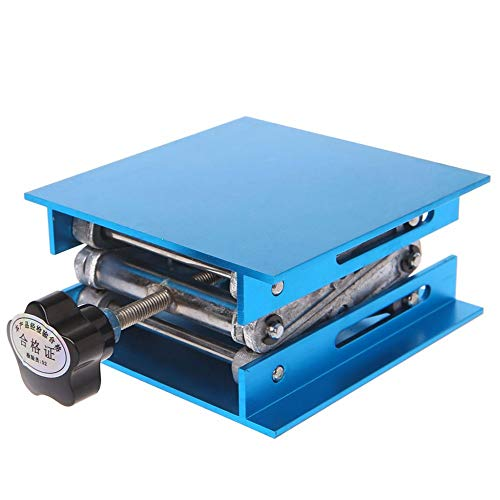 "4""x4"" Aluminum Router Lift Table Woodworking Engraving Lab Lifting Stand Rack"