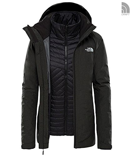 The North Face W Inlux Triclimate Tnf Black Heather/Tnf Blk M