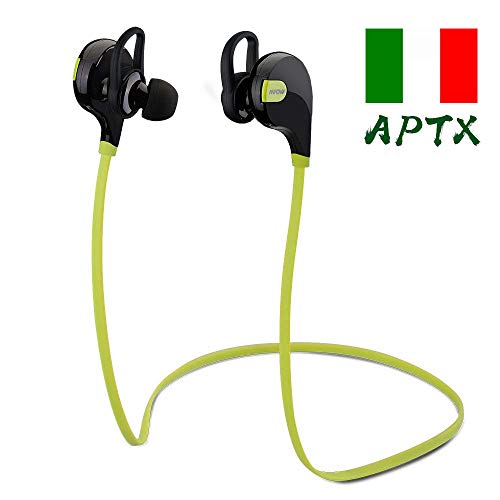 Mpow Swift Auricolari Wireless Bluetooth 4.0 Headset Stereo Cuffie Sportive a Prova di Sudore con...