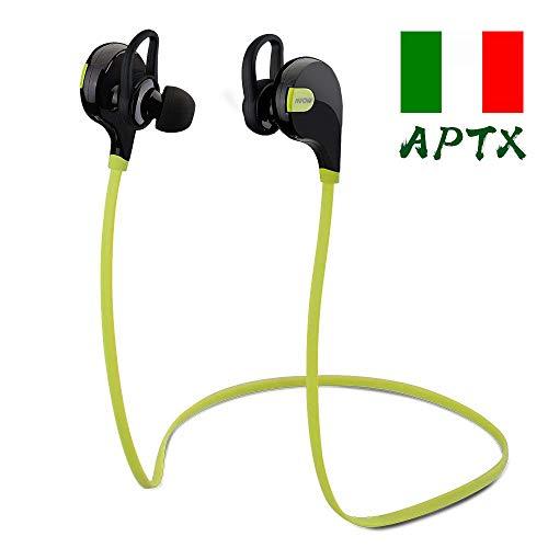 Mpow Swift Auricolari Wireless Bluetooth 4.0 Headset Stereo Cuffie Sportive a Prova di Sudore con...