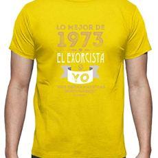 latostadora – Camiseta 1973 el Exorcista Yo para Hombre