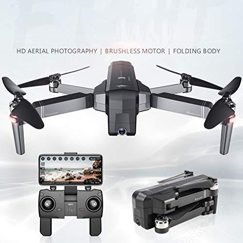 QAIYXM Drone GPS Wi-Fi con videocamera HD 1080P Video Live e Ritorno GPS Quadcopter a casa con Motore brushless e Telecamera Regolabile a 90 ° - Drone Pieghevole Aereo Professionale