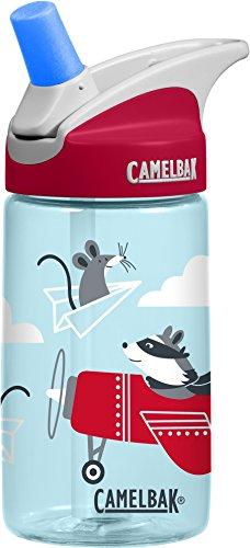 CamelBak Eddy Kids 1274402040- Cantimplora para niños y niñas, airplane bandits