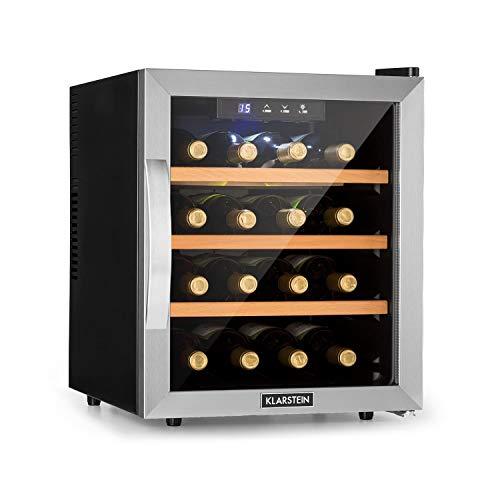 KLARSTEIN Reserva 16 - Cantinetta Vino, Frigorifero Termoelettrico per Bevande, Classe Energetica B,...