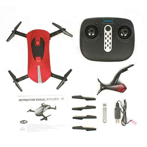 JICHUI JD-18 2.4G WiFi FPV 200W Fotocamera Pieghevole 6-Axis Gyro RC Drone Quadcopter con 3D-Flip...