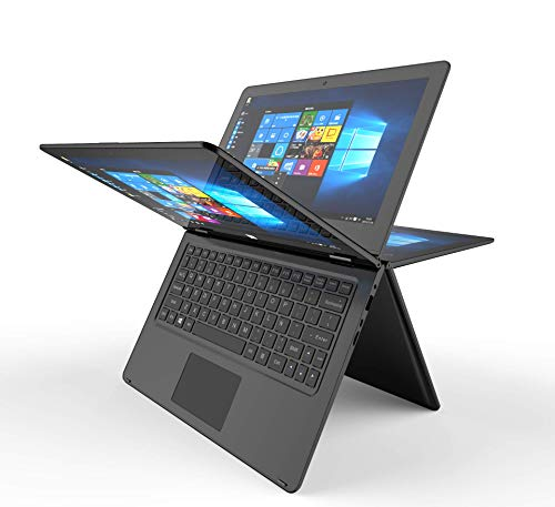 Prixton Notebook Convertibile portatile 11.6' (Intel z8350, 2 GB di RAM, 32 GB eMMC, Windows 10),...