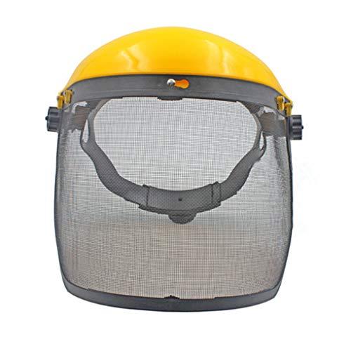UHAoo Máscara de Malla diseño de Seguridad Protector de Cara Segadora desbrozadora Protección Motosierra Protector Ocular