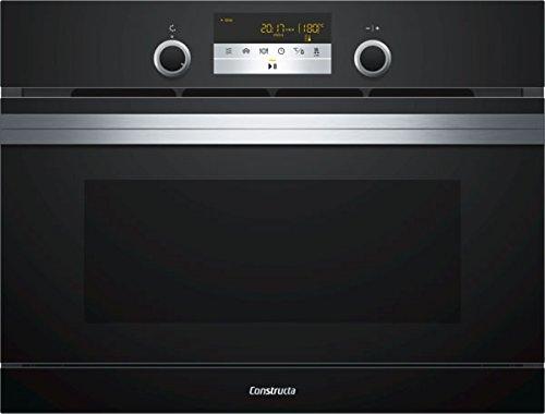 Constructa cc4p86660Incasso del forno a microonde con funzione di cottura a vapore/vetro
