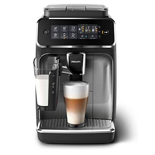 Philips EP3246/70 Macchina da caffè automatica espresso serie 3200 LatteGo Argento