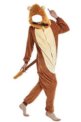 Mystery&Melody Franela Adulto Unisex Pijamas de Dinosaurio Traje de Disfraces de Animales con Capucha Divertido para El Carnaval de Halloween Ropa de Dormir de Navidad Cosplay Disfraces Homewear