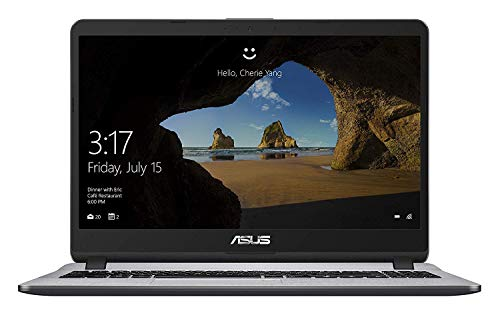Asus Thin and Light Core i3 7th Gen 15.6 inch FHD Laptop ( 4 GB/ 1TB HDD /Windows 10/ Stary Grey /1.68 kg), X507UA- EJ836T