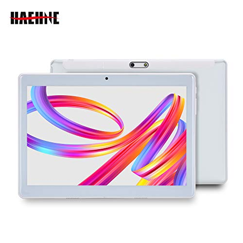 Haehne 10.1 Pollici Tablet PC, Google Android 4.4 GSM WCDMA 3G Phablet, Schermo Capacitivo HD...