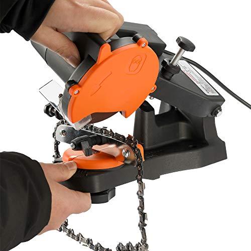 KKmoon,Afilador para cadenas, limitador de profundidad,4800RPM 85W 220V-230V