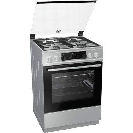 Gorenje K6351XF Piano cottura Gas A Acciaio inossidabile cucina
