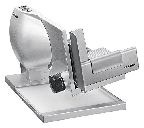Bosch MAS9555M Eléctrico 150W Metal Metálico, Plata rebanadora - Cortafiambres (220 - 240, 50/60, Metal, Metálico, Plata, 260 mm, 360 mm)
