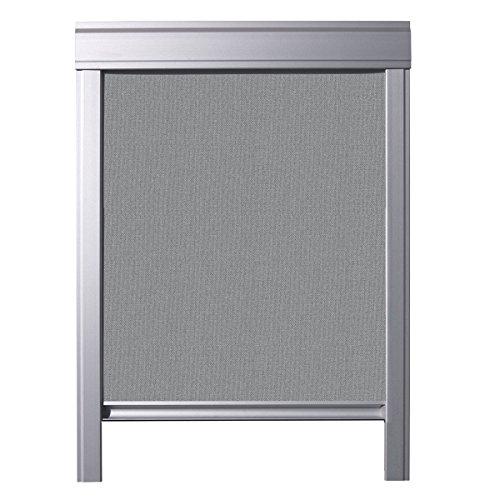 ITZALA Verdunkelungs-Rollo für VELUX Dachfenster, S06, 606, Grau
