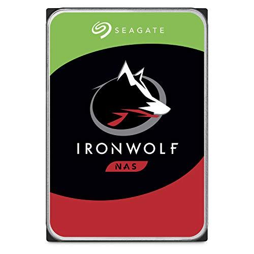 Seagate ST8000VNZ0228,9cm 8TB Ironwolf hard disk interno per 1-8Bay NAS...