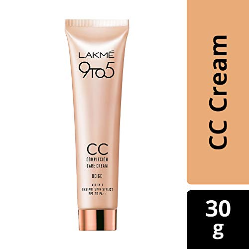 Lakme 9 to 5 Complexion Care Face Cream, Beige, 30g