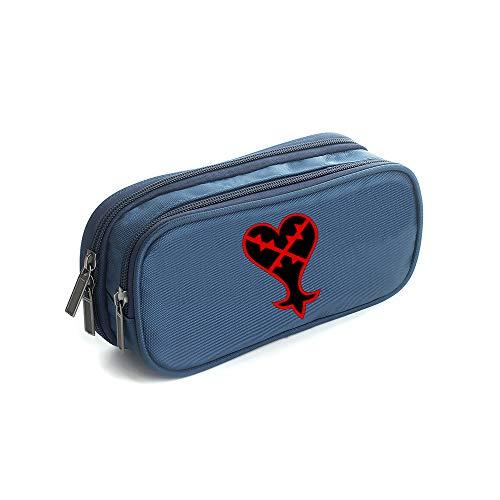 Kingdom Hearts Astucci Stampa Trend Astuccio per borse Fashion Wild Stationery Bag Unisex Kingdom...
