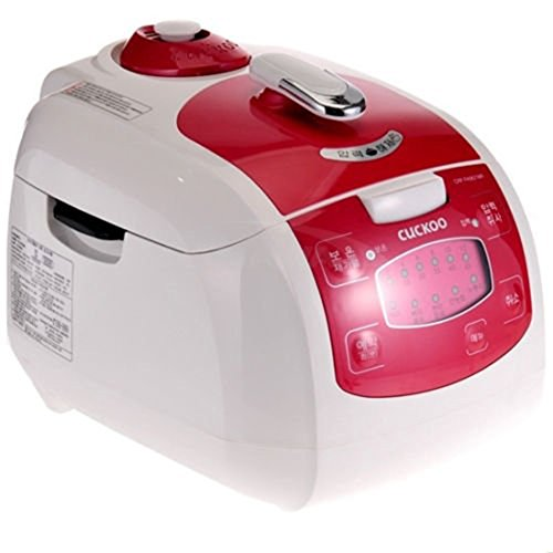 CUCKOO Pressure Rice Cooker CRP-FA0621MR Xwall Black Coated Inner Pot 6 Cups AC220V~ /60Hz