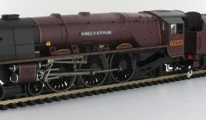 Hornby R2985 'A Duchess At Carlisle' The Barry J Freeman Collection 00 Gauge Train Pack DCC Ready 41MoBjS4gJL