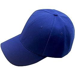 Baseballmütze Damen,Dragon868 Snapback Hut Hip-Hop einstellbarCap (Blau)