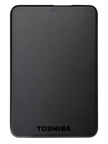 Toshiba HDTB120EK3CA HDD Esterno 2,50 Pollici, USB 3.0, 2000 GB, Autoalimentato, Nero