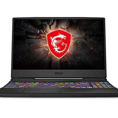 MSI Gaming GL65 9SCK-009IN Intel Core i7-9750H 9th Gen 15.6-inch Laptop (8GB/512GB NVMe SSD/Windows 10 Home/GTX 1650, 4GB Graphics/Black/2.3Kg) 9S7-16U412-009 16