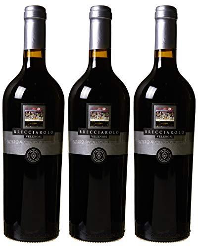 Velenosi Vino Rosso Piceno Doc Superiore Brecciarolo, 2016-3 Bottiglie da 750 Ml