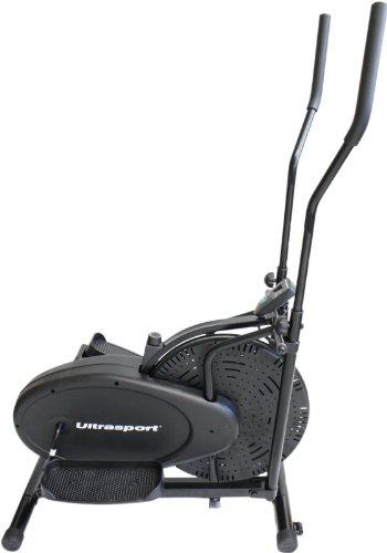 Ultrasport Vélo elliptique Basic X-Trainer 100 avec ordinateur et régulateur de résistance