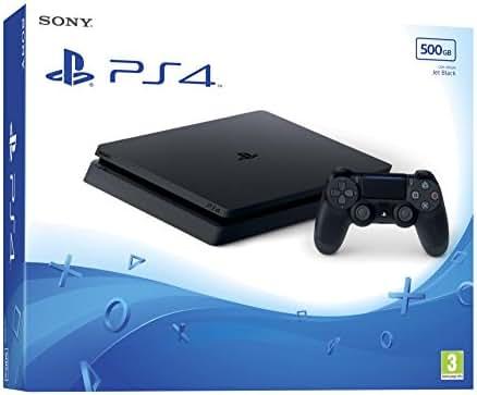 PlayStation4  - Konsole (500GB, schwarz, slim)