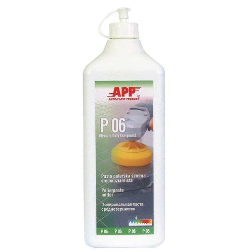 APP-P06 Schleif- POLIERPASTE, mittelkörnig 500 ml 081310