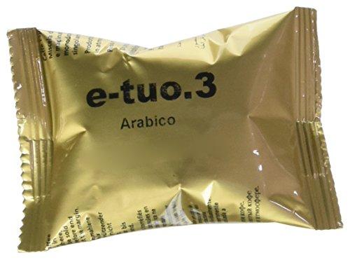100 CAPSULE POP CAFFE' E-TUO 3 ARABICO COMPATIBILI FIOR FIORE, LUI ESPRESSO E MITACA MPS