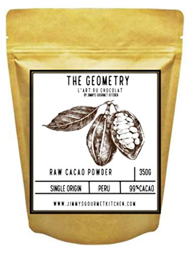 Jimmy's Gourmet Kitchen The Geometry Single Origin Peru Non-Alkalized Cacao Powder (350 g)