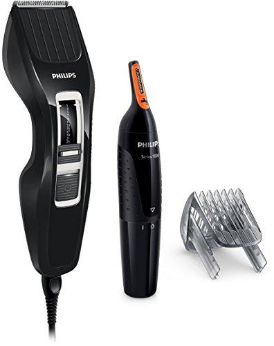 Philips HC3410/85 - Pack cortapelos y recortador de nariz y oidos
