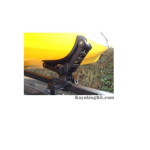 RUK Combi Rack & Tie Downs - Canoe / Kayak Roof Rack Supports