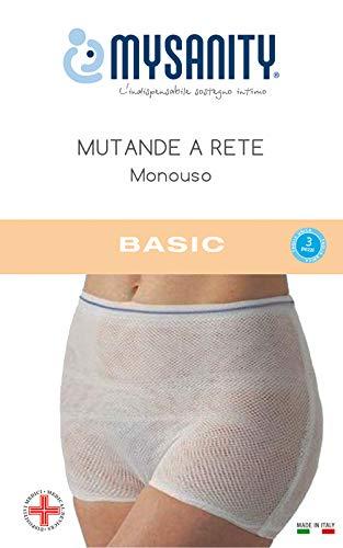 MYSANITY Mutande a Rete, Monouso Mutandine Premaman, Beige (Beige Beige), One Size (Taglia Unica) Donna