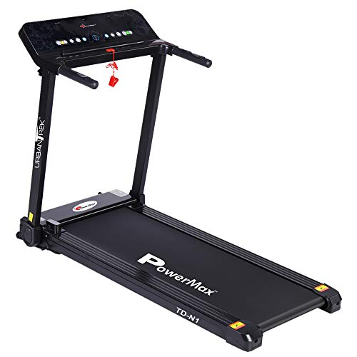 PowerMax Fitness - UrbanTrek TD-N1 - (2.0HP) Plug and Run Treadmill for Home Use