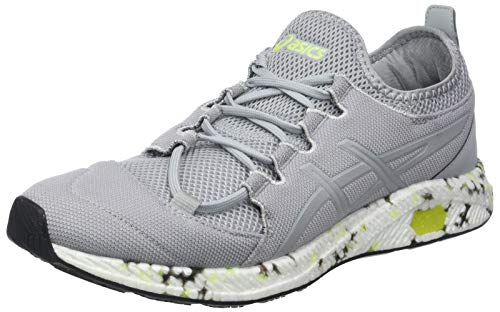 ASICS Men's Hypergel-Sai Mid Grey Running Shoes-8 UK/India (42.5 EU) (1021A014.020)