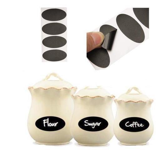 Generic A1.Num.2949.Cry.1.. 40x lavagne Lkboard Craft Kitchen sticker Jar Jam ft Ki adesivi per la...