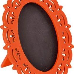 floristikvergleich.de Vintage Tafel in Orange 2 Stk., Tischdeko Hochzeit
