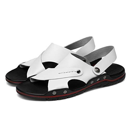 DierCosy Uomo Sandali Rivetti Beach Sandal Summer Open Toe Shoes Casual Traspirante Outdoor Sandalo