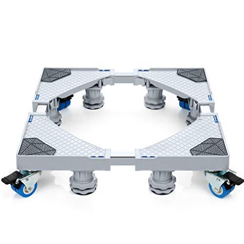 XHCPortable Base Ad Assorbimento di Vibrazioni con Ruote Retrattili per Lavatrici, Asciugartici E...